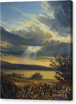 Ray Of Light Canvas Print by Kiril Stanchev