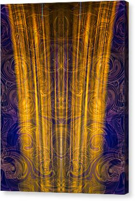 Ray Of Light Canvas Print by Omaste Witkowski
