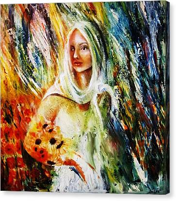 Ray Of Sunshine Canvas Print