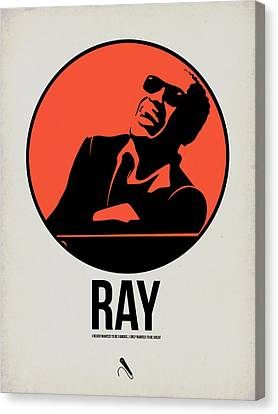 Ray Poster 1 Canvas Print by Naxart Studio