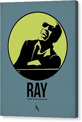 Ray Poster 2 Canvas Print by Naxart Studio