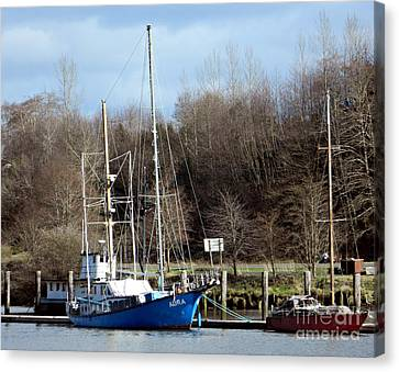 Raymond Fishing Boats Canvas Print
