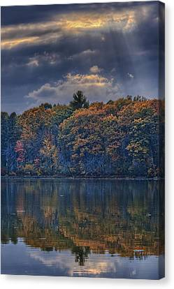 Rayons D'automne Canvas Print