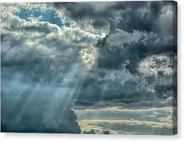 Rays From Heaven Canvas Print by Jai Johnson