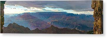 Rays Of Color Canvas Print by Mike Groves