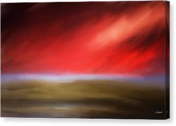 Rays Of Grandeur Canvas Print by Lourry Legarde