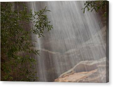 Rays Of Water Canvas Print