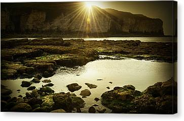 Rays Canvas Print by Svetlana Sewell
