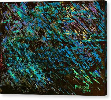 Razor Storm Canvas Print by Melissa Herrin