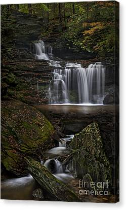 Rb Ricketts Falls Canvas Print