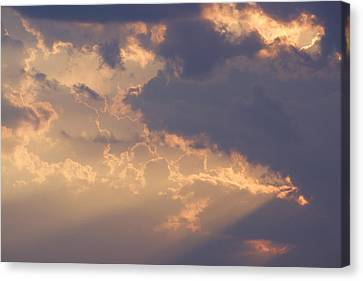 Reach For The Sky 9 Canvas Print by Mike McGlothlen
