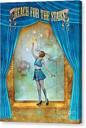 Reach For The Stars Canvas Print by Aimee Stewart