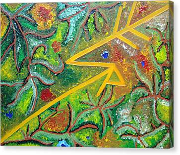 Reaching4fulfillment Canvas Print by Joanna Pilatowicz