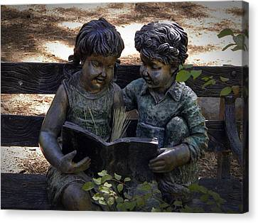 Read With Me Canvas Print