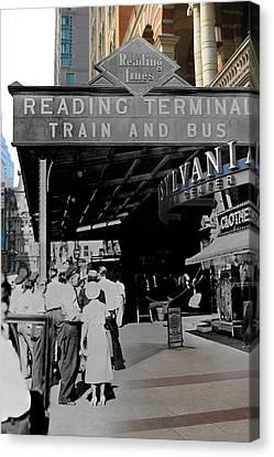 Reading Terminal Canvas Print