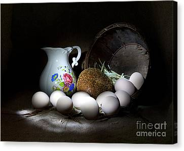 Ready For Breakfast Canvas Print