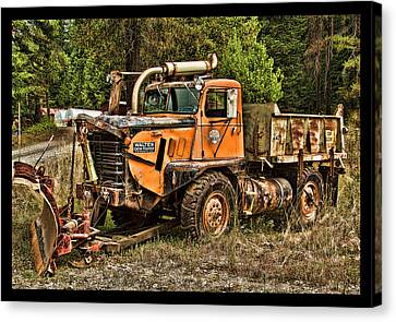 Ready For Snow By Ron Roberts Canvas Print