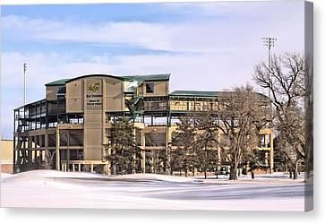 Ready For Spring Training Canvas Print by JC Findley
