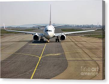 Ready For Take Off Canvas Print by Olivier Le Queinec