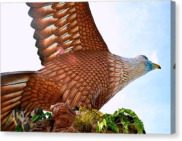Flying Canvas Print - Ready To Fly. by Siti  Syuhada