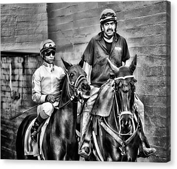 Ready To Race Canvas Print by Camille Lopez
