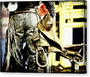 Ready To Ride Canvas Print by Lincoln Rogers