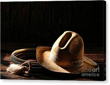 Ready To Work Canvas Print by Olivier Le Queinec