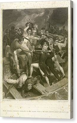 Lord Admiral Nelson Canvas Print - Rear Admiral Nelson by British Library