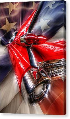 Rear Caddy Canvas Print by Nathan Wright