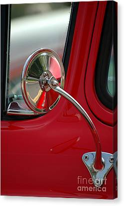 Canvas Print featuring the photograph Rear View by Christiane Hellner-OBrien