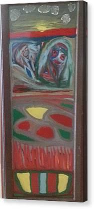 Rear Window Canvas Print by Darrell Black