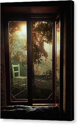 Rear Window Canvas Print by Taylan Apukovska