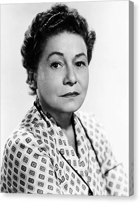 1950s Movies Canvas Print - Rear Window, Thelma Ritter, 1954 by Everett