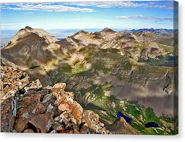 Reason To Climb Canvas Print