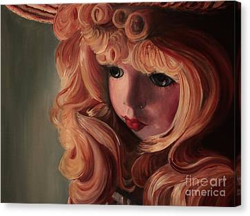 Rebecca Canvas Print by Jane Autry