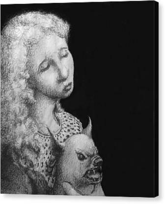 Rebecca Canvas Print by Louis Gleason
