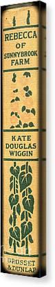 Rebecca Of Stoneybrook Farm By Kate Douglas Wiggin Canvas Print by Edward Fielding