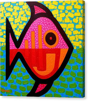 Rebel Fish  II Canvas Print by John  Nolan