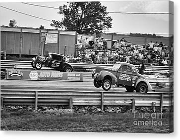 Rebel Reaper Wheelstand Canvas Print by Dennis Hedberg