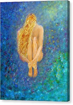 Rebirth Canvas Print by Donna Blackhall