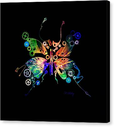 Rebirth Canvas Print by Fran Riley