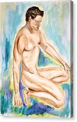 Rebirth Of Apollo Canvas Print by Donna Blackhall