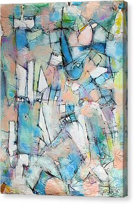 Rebirth Of Wonder   Canvas Print by Hari Thomas