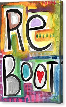 Reboot Canvas Print by Linda Woods