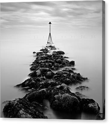 Receding Tide Canvas Print by Dave Bowman