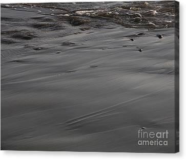 Receding Waters Canvas Print