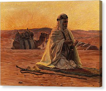 Recitation Of The Maghrib Canvas Print