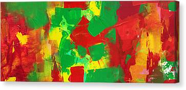 Recombinant Landscape 3 Canvas Print by Paul Ashby