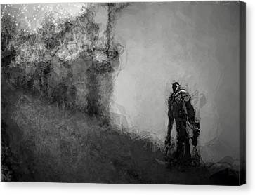 Reconnoiter Canvas Print by Wendy J St Christopher