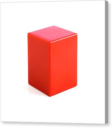 Rectangular Prism Canvas Print by Science Photo Library